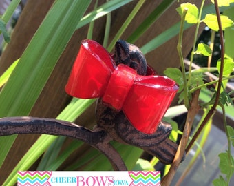 Cheer Bow RING - Red