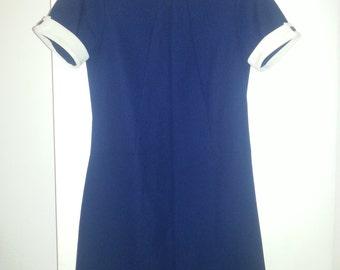 1960's Vintage Secretary Dress