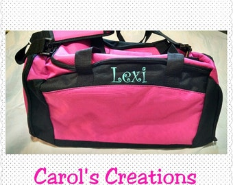 Personalized/Monogrammed Duffel Bag