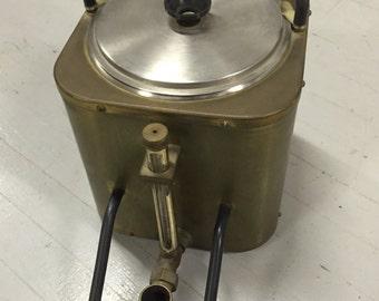 Vintage Brass Coffee Server