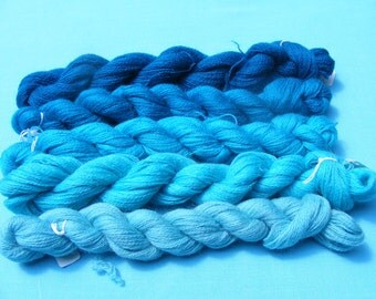 Appleton Crewel Wool Yarn Pack- Turquoise shades-180 yard each(5 hanks)