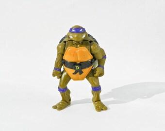 1992 TMNT Donatello Action Figure - Playmates Toys - Vintage Teenage Mutant Ninja Turtles