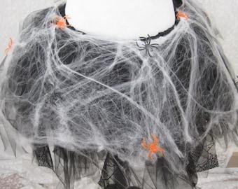 Spider Web Adult Tutu, Spider Tutu, Spider Costume, Party Tutu, Halloween Costume,Teen Tutu, Adult Costume, Photo Prop