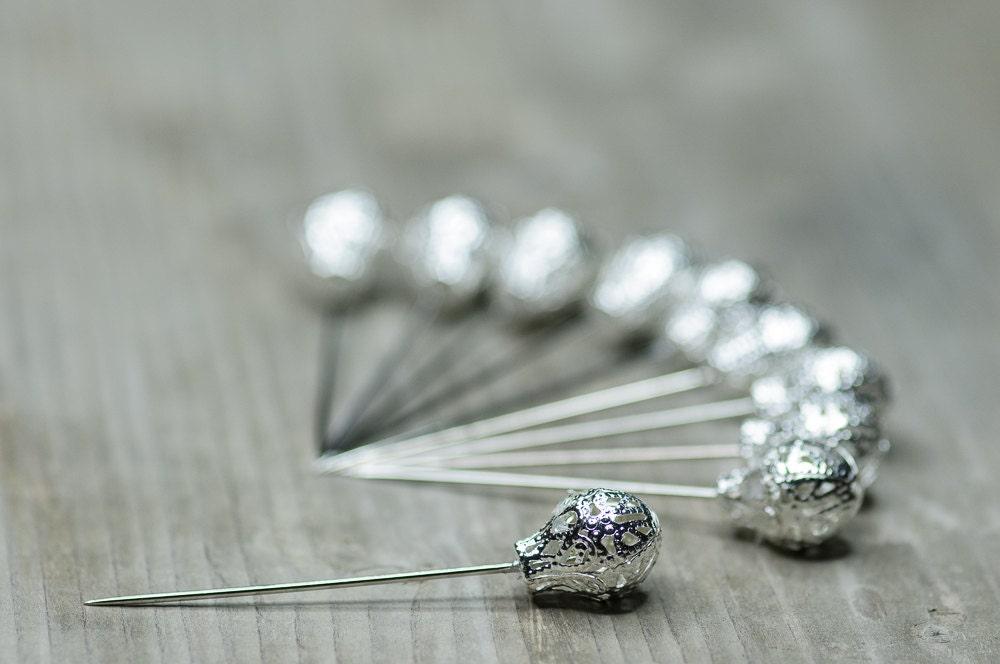 Decorative pins wedding pins corsage pins large pins craft for Decorative pins for crafts