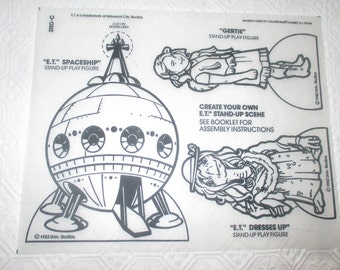 E.T. Colorforms Sheet