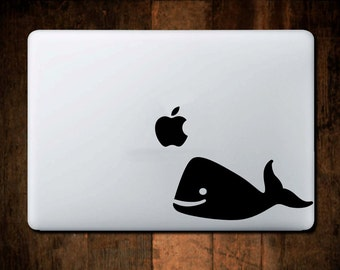 Whale Orca Decal MacBook Decal, Shark Week,  Laptop decal, Laptop Sticker, Macbook decal, Window Decal, ipad decal