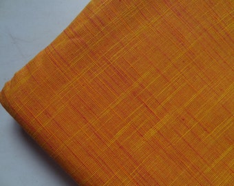 handloom fabric fabric by yard Indian fabric woven fabric Mangalgiri cotton upholstery fabric Handloom material Two tone fabric