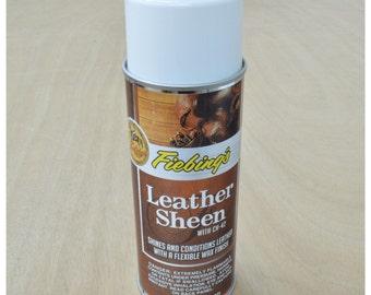 11249- Fiebings Leather Sheen 11 oz Aerosol Flexible Wax Finish