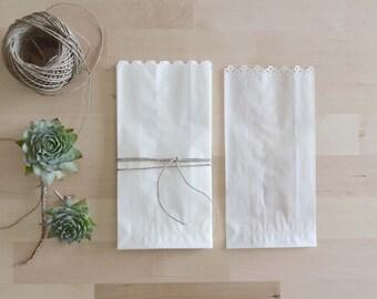 25 sacchetti per confettata fustellati - glassine bags
