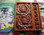 Oak Wood, Roses Decor, We...
