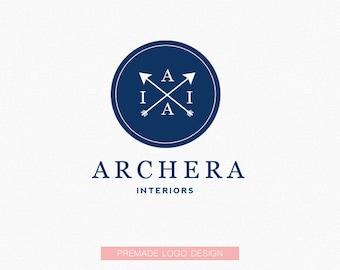 Premade Logo (Archera Interiors) - Logo Design, Graphic Design + Branding