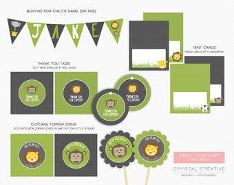 Jungle Party Printables