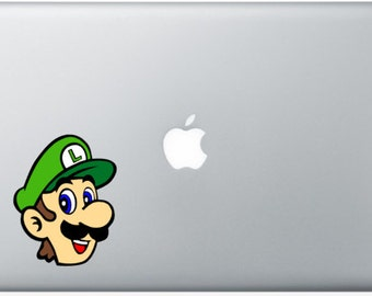 Luigi (Full Color) Laptop Decal