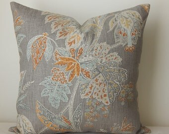 Kravet  printed 18x18-19x19-20x20-14x20,pillow cover, decorative pillow, throw pillow, same fabric front and back