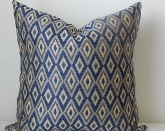 Diamond designer,18x18-19x19, pillow cover,accent pillow,decorative pillow,same fabric front and back
