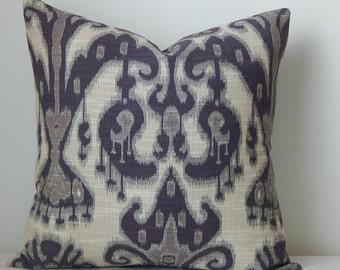 Kravet ikat designer fabric,pillow cover, accent pillow,decorative pillow.