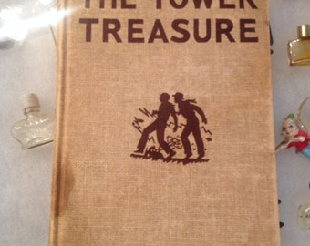 "Hardy Boys ""The Tower Treasure"" by Franklin W Dixon 1959"