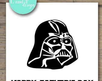 Father's Day Card {Darth Vader}
