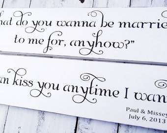 Personalized gift Wedding gift ideas, So I can kiss you anytime I want sign,Sweet Home Alabama quote sign,Wedding Signs,couples gift