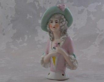 Vintage China Pincushion Doll
