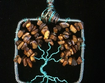 Tigers Eye Tree of Life