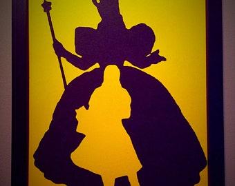 Glinda the good and Dorothy wall art