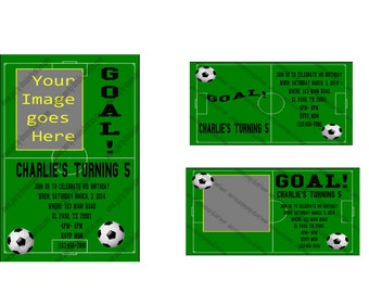 10 Soccer Theme Invitations