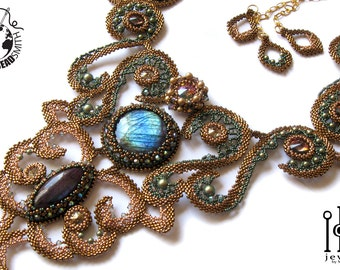 Beaded Necklace - Paradise Lost Beaded BOTB Necklace