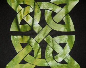 Celtic Knot Block 9 Quilt Applique Pattern Design PDF