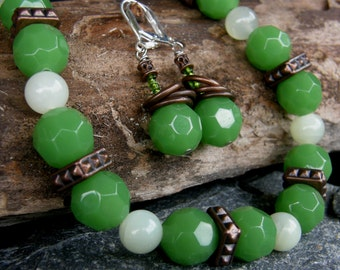 Topiary Necklace and Earrings Set