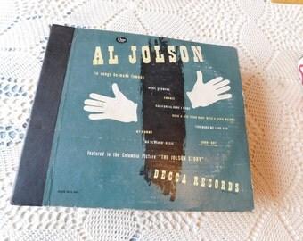 Al Jolson Decca Record Album
