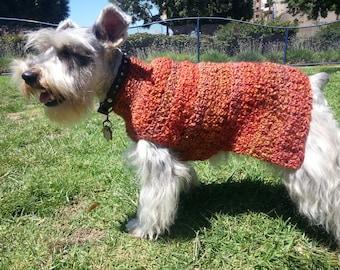 HS.100 - Comfy Cozy Homespun Dog Sweater