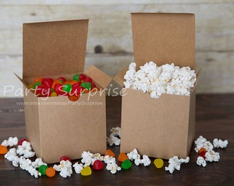 Kraft gift boxes 4x4x4 GREAT PRICES, Cube gift box, Kraft gift box, Brown Kraft boxes