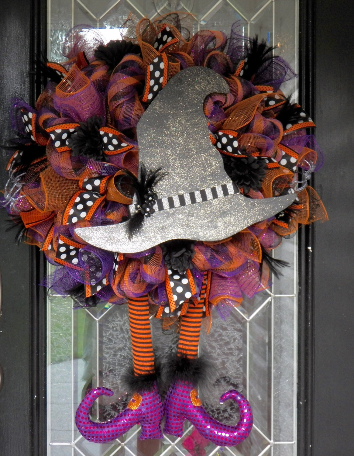 Halloween Wreath Door Hanger Wreath For Door By