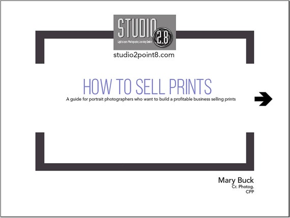 How to Sell Prints - A Guide for Portrait Photographers