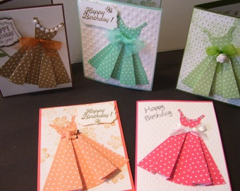 Beautiful Happy Birthday Dress Card