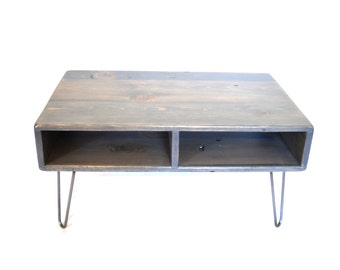 36 x 36 square reclaimed wood coffee table barn