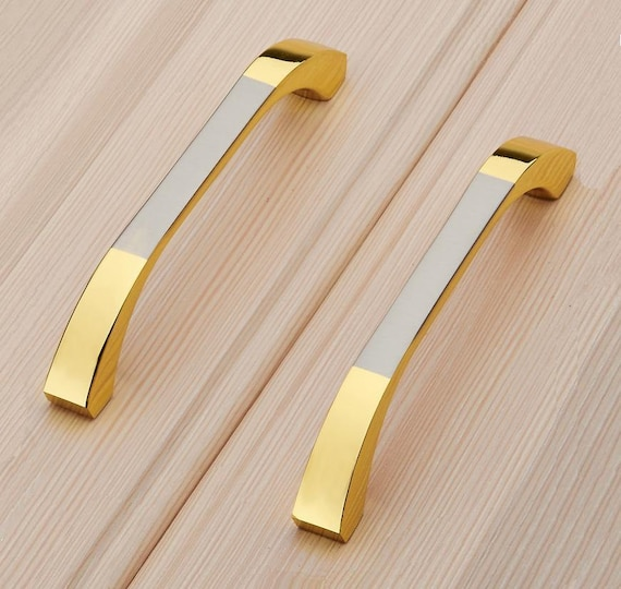 Items Similar To Dresser Drawer Pull Handles Knob Gold