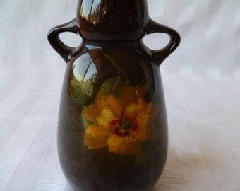 Louwelsa Weller Flower Pottery Pitcher