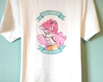 Rose Quartz Steven Universe T Shirt Medium