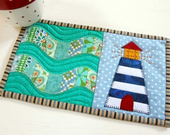Lighthouse Mug Rug Pattern