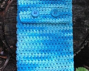 Crocheted kindle (tech) Cover