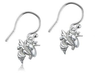Georgia Tech Dangle Earrings