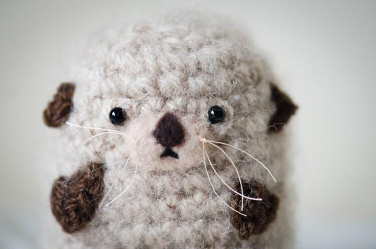Cute Mystery Sea Otter Amigurumi Kawaii Sea Otter by ...