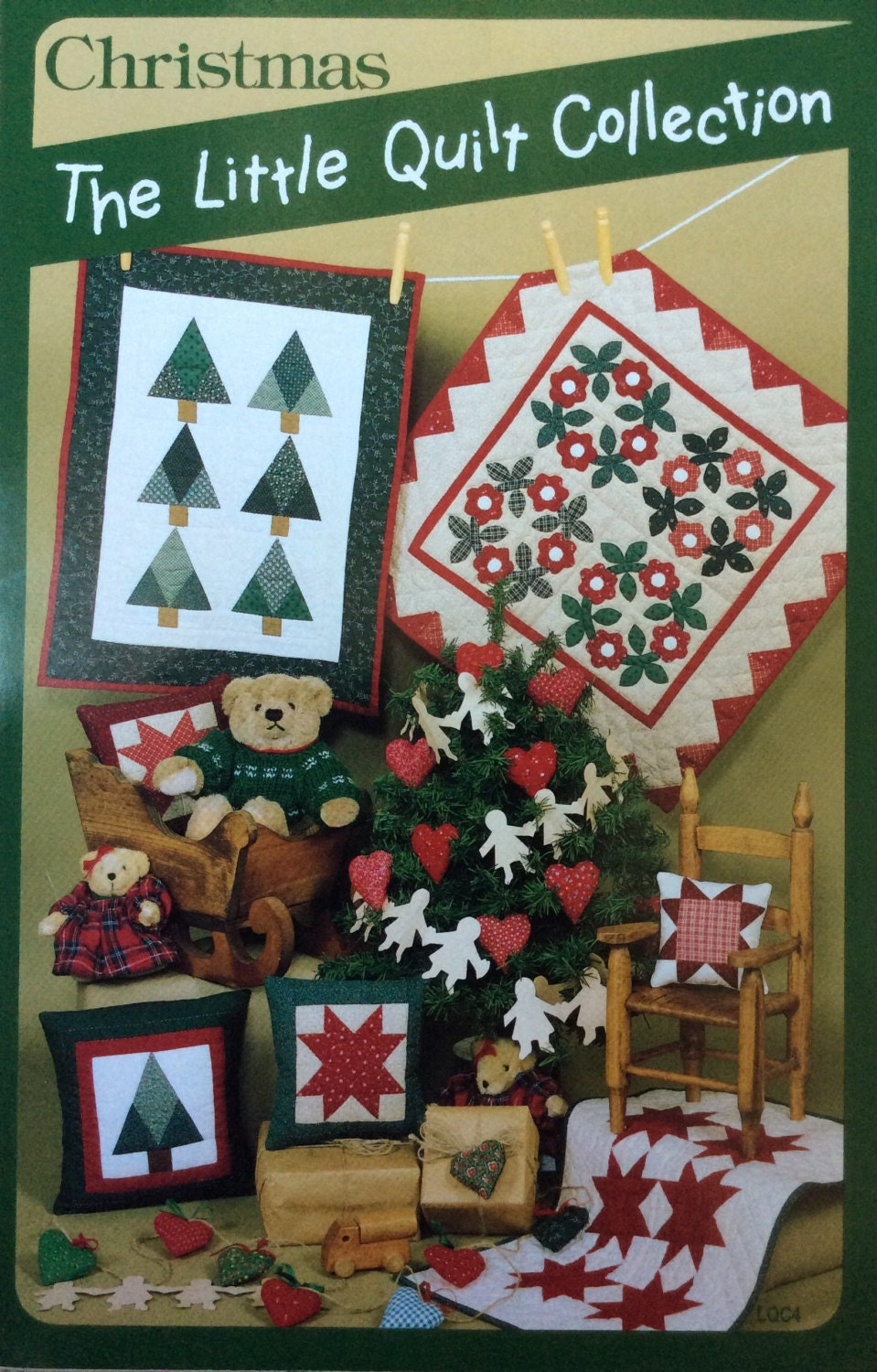 Christmas The Little Quilt Collection by Lonestarblondie on Etsy
