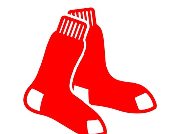 Boston Redsox Sock Decals