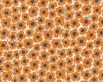 Asuka - Pop Floral in Orange - Dear Stella (STELLA-472-ORANGE)