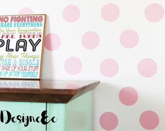 "Wall Stickers - 3"" Dots"