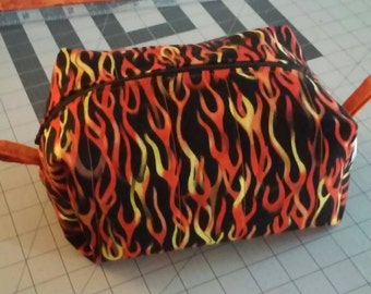 Fire zipper bag