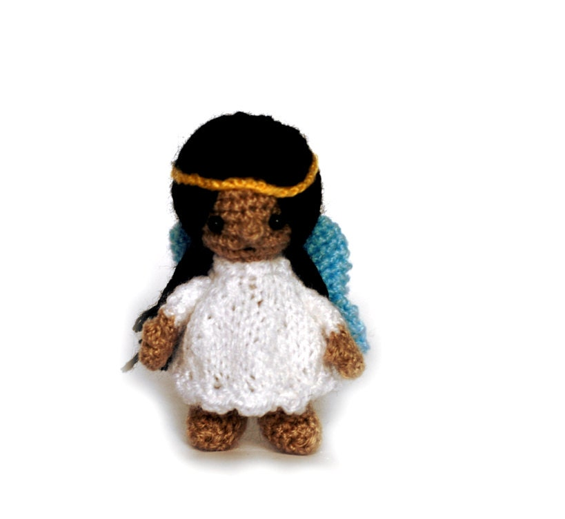 Amigurumi Stuffing : crochet ANGEL little amigurumi angel doll stuffed angel